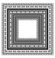 Square Vintage Frame vector image
