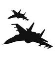 Air strike vector image