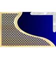Woven Carbon Fiber vector image