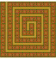 Greece maze ornament vector image
