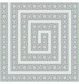Greece maze light ornament vector image