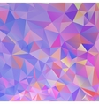 Colorful Polygon Background vector image