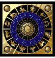circle of zodiac vector image