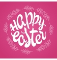 hand drawn easter lettering greeting quote vector image