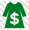 Dress Sale Icon vector image