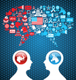 USA political elections social discussion vector image