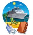 island cruise vector image