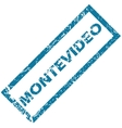 Montevideo rubber stamp vector image