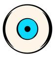 human eye icon icon cartoon vector image