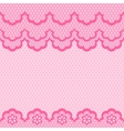 Old lace seamless pattern texture vector image