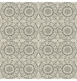 ethnic modern hand drawn ornamental pattern vector image