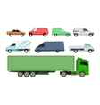 Car vechicle transport isolated vector image