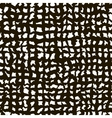 Rough Grid Black and White Texture Abstract vector image vector image