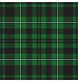 seamless - green tartan vector image
