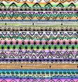 tribal stripe seamless print vector image