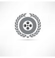 reel of film icon vector image