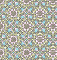Seamless kaleidoscopic pattern vector image