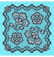 Vintage lace frame abstract ornament texture vector image