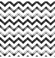Zigzag chevron grunge black pattern background vector image vector image