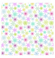 Flakes pattern vector image vector image