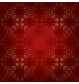 red seamless beautiful pattern vector image