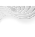 White Technology Background vector image vector image