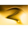 abstract smoke gold vector image vector image