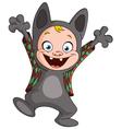 werewolf kid vector image vector image