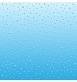 Blue Water drops background vector image