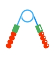 Hand expander sport equipment exercise muscular vector image