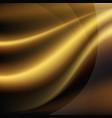 luxury golden background vector image
