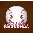 baseball design vector image