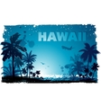 tropical hawaiian background vector image