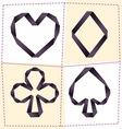 card symbol 2 vector image