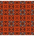 seamless ethnic geometric pattern vector image vector image