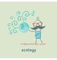 ecology vector image