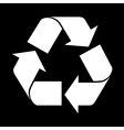 reuse symbol simple vector image vector image
