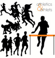 athletics vector image