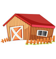 Barn vector image