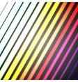 Bright color diagonal rectangles colorful design vector image