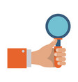 magnifying glass icon image vector image