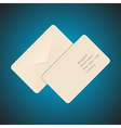 Post envelope vector image
