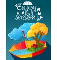 fall season vector image vector image