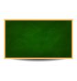 Green chalkboard background eps 10 vector image
