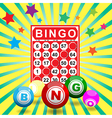 bingo7 vector image