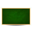 Green chalkboard background eps 10 vector image