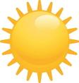 sun4 resize vector image