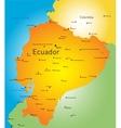 Ecuador vector image vector image