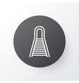 railroad icon symbol premium quality isolated vector image