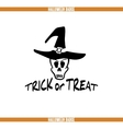Trick Or Treat Badge vector image